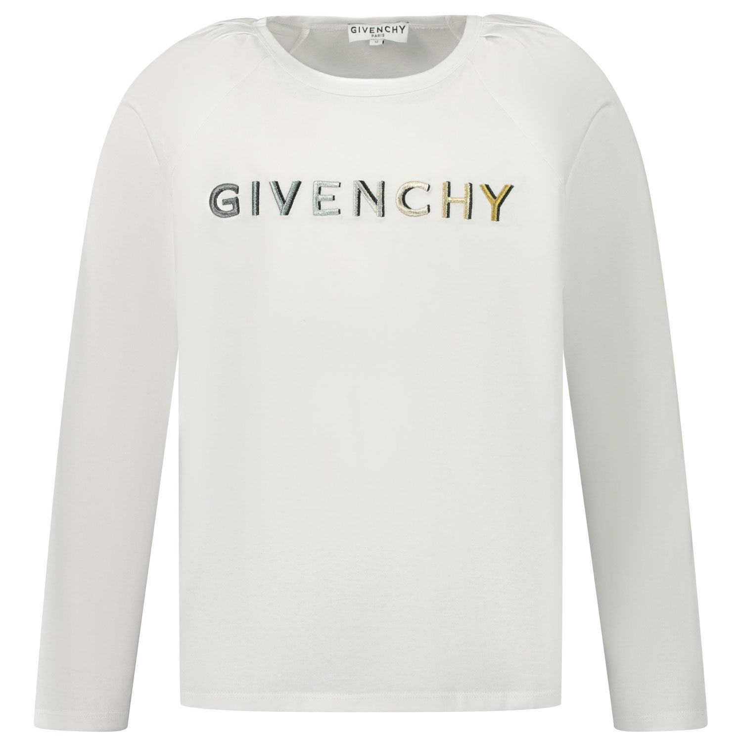 Picture of Givenchy H15180 kids t-shirt white