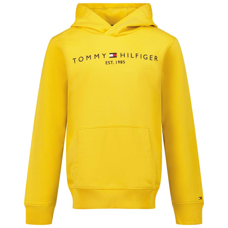 Picture of Tommy Hilfiger KB0KB05673 kids sweater ocher