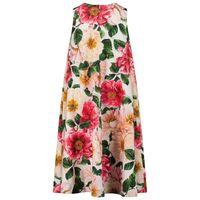 Picture of Dolce & Gabbana L5JDZ0/FSGUD kids dress pink