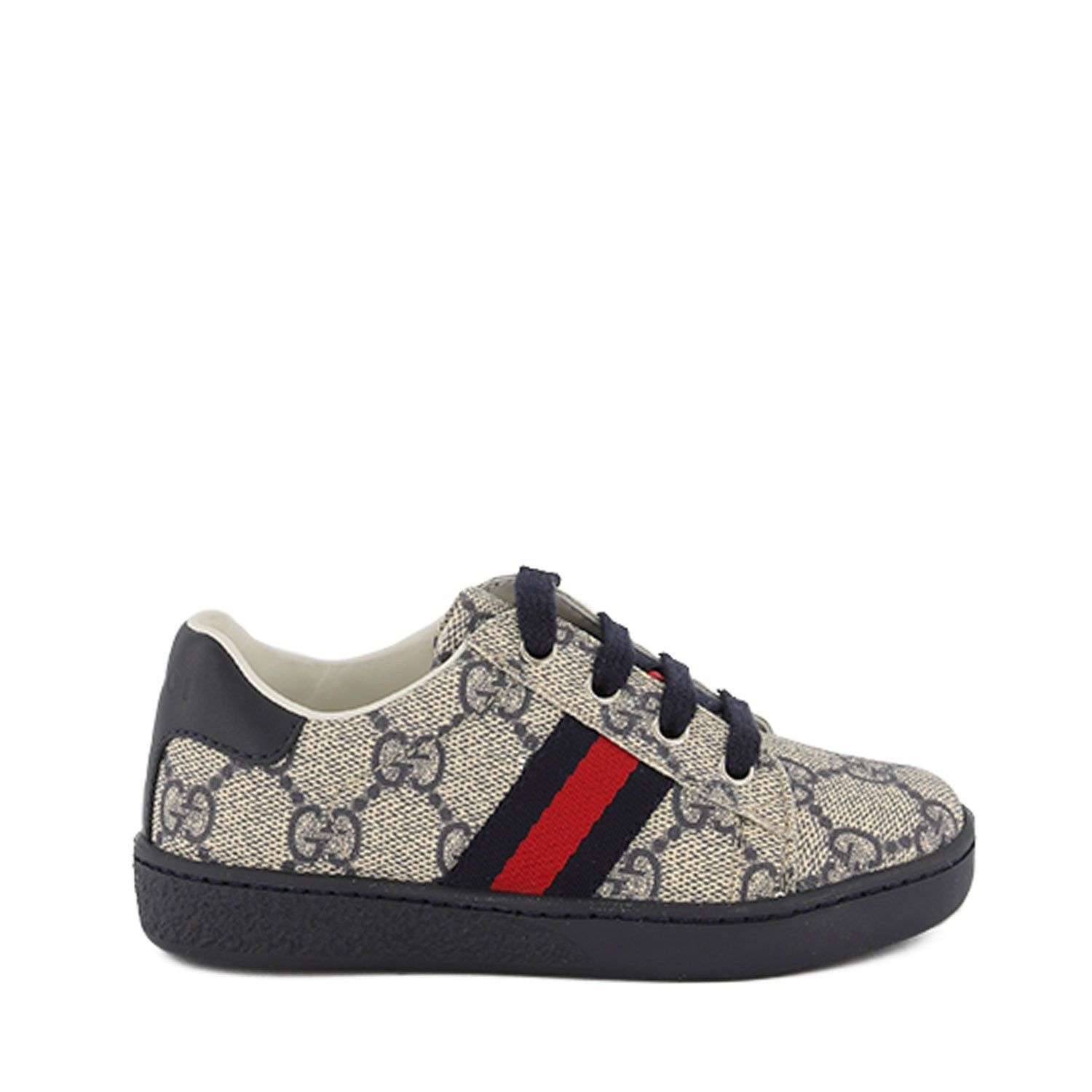 Picture of Gucci 433147 kids sneakers navy