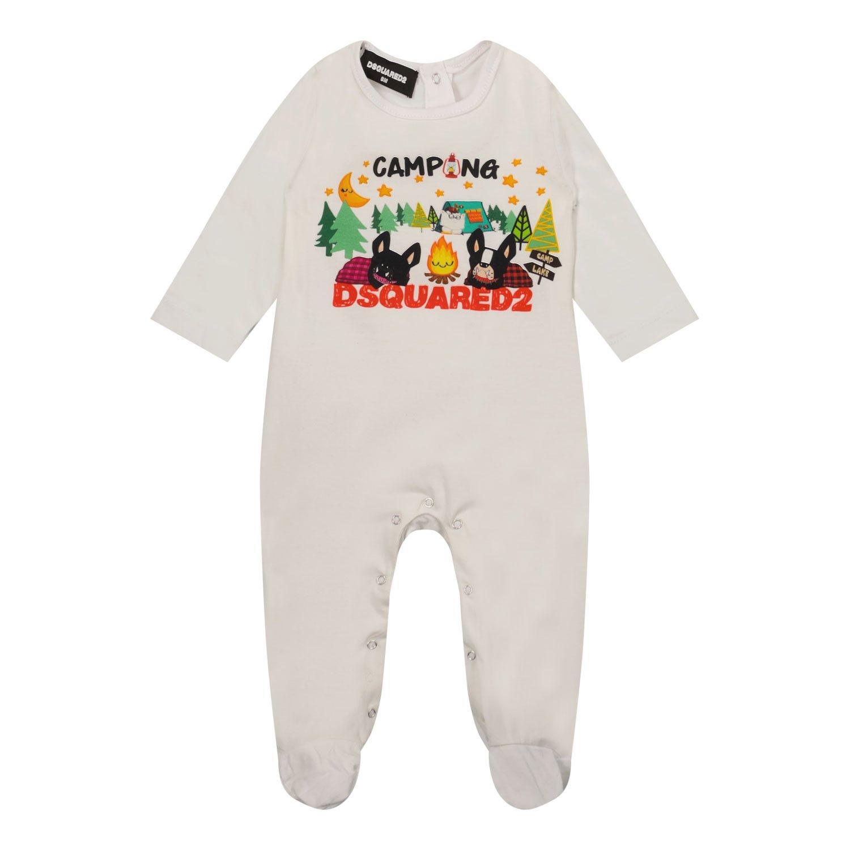 Bild von Dsquared2 DQ0656 Babystrampelanzug Weiß