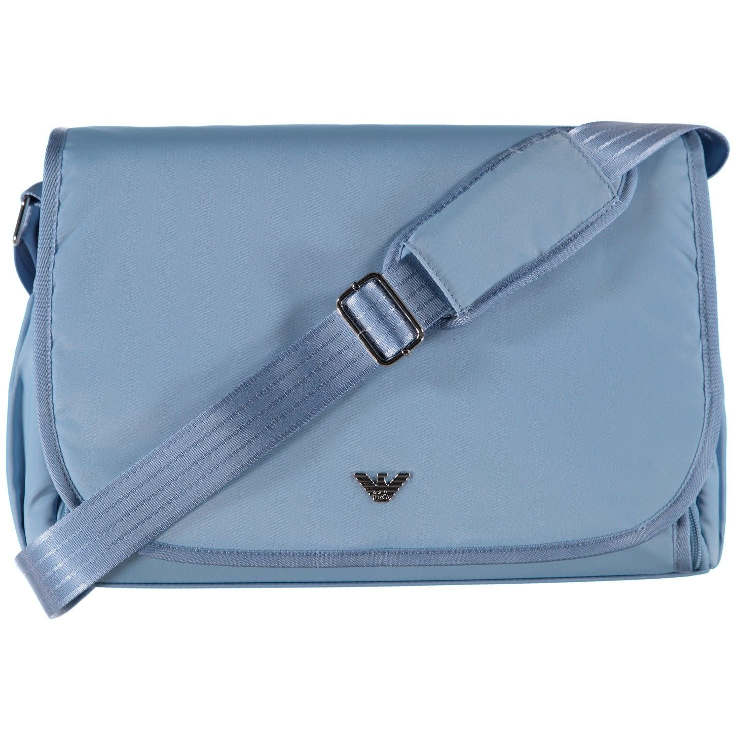Picture of Armani 402125 diaper bags light blue