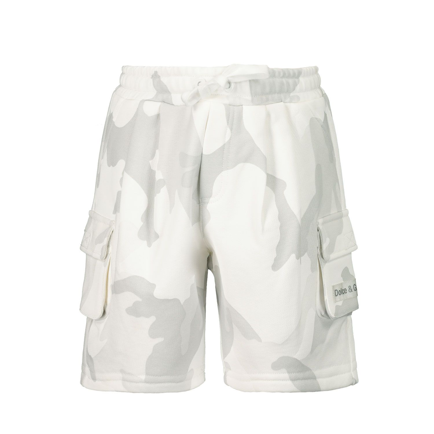 Picture of Dolce & Gabbana L1JQI3 G7YIT baby shorts light gray