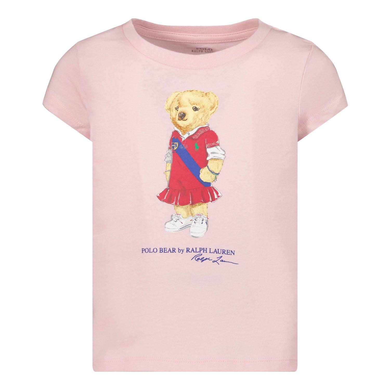 Afbeelding van Ralph Lauren 838265 kinder t-shirt licht roze