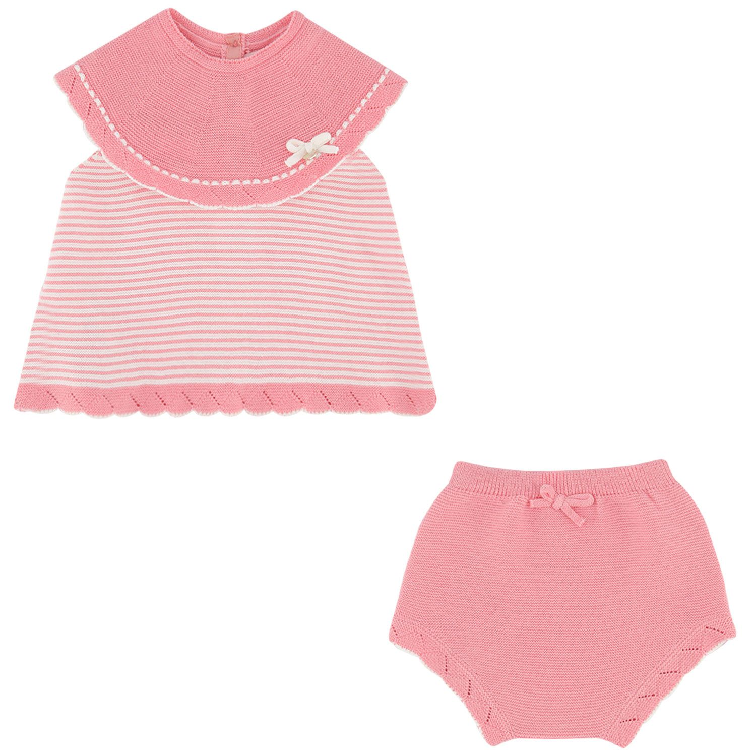 Picture of Mayoral 1298 baby set pink