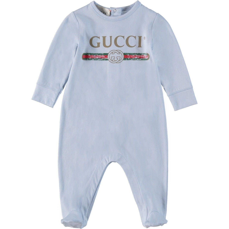 Afbeelding van Gucci 504123 boxpakje licht blauw