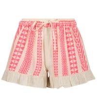 Picture of Devotion 0215061G kids shorts fluoro pink