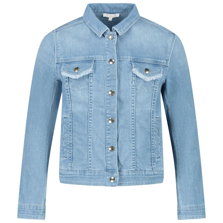 Afbeelding van Chloé C16357 kinderjas jeans