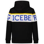Bild von Iceberg MFICE2322J Kinderpullover Schwarz