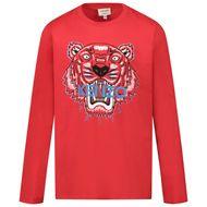 Afbeelding van Kenzo KR10748 kinder t-shirt rood