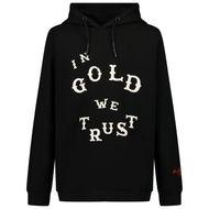 Afbeelding van in Gold We Trust WESTERN HOODIE kinder sweater zwart