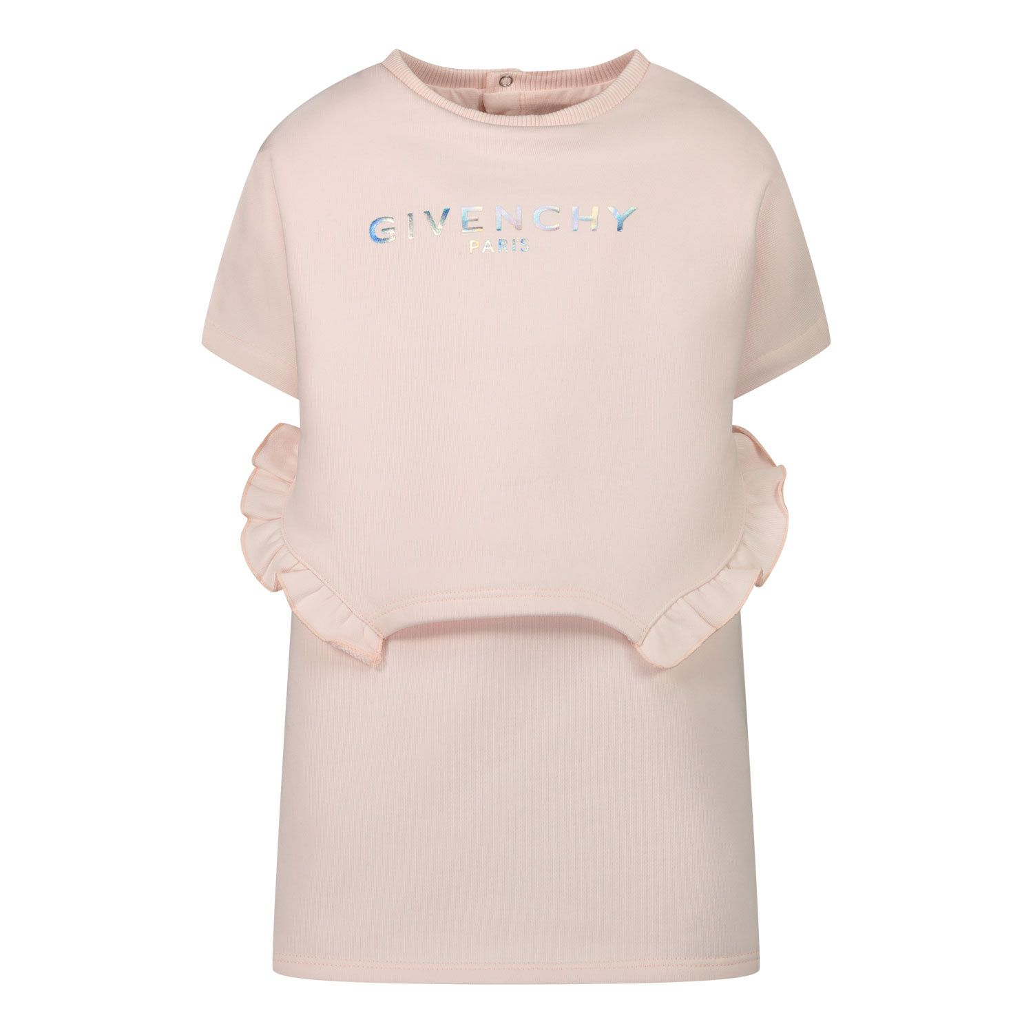 Picture of Givenchy H02069 baby dress light pink