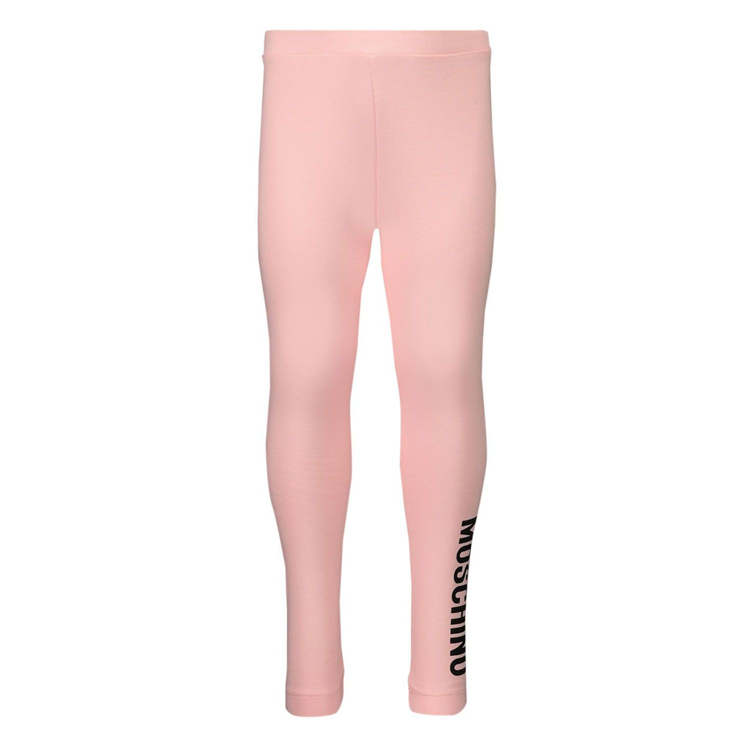 Picture of Moschino M2P02B baby legging light pink