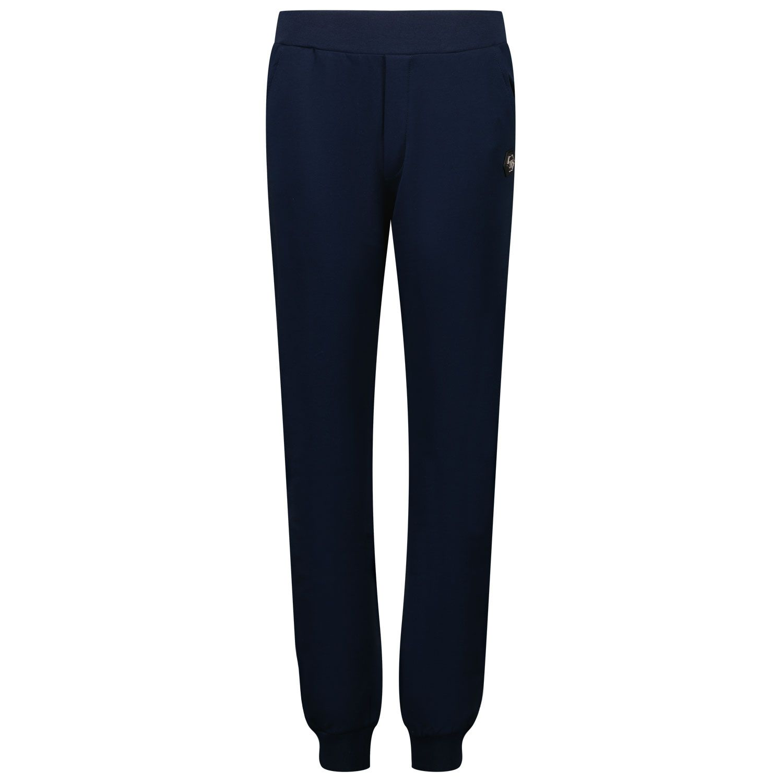 Picture of Philipp Plein BJT0450 kids jeans blue