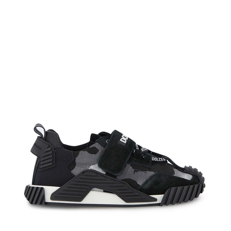 Afbeelding van Dolce & Gabbana DA0976 AO0261 kindersneakers zwart