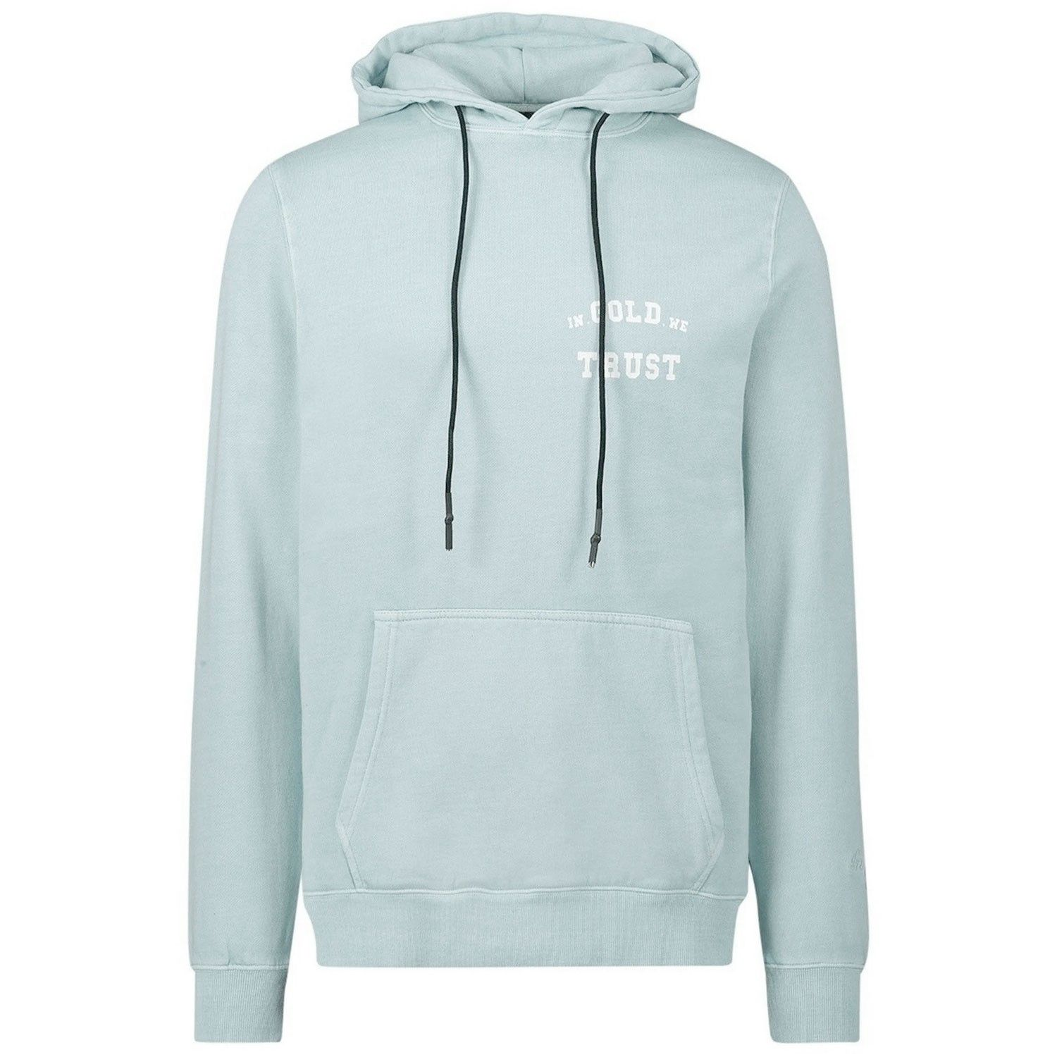 Picture of In Gold We Trust KIDS BASIC HOODIE kids sweater light blue