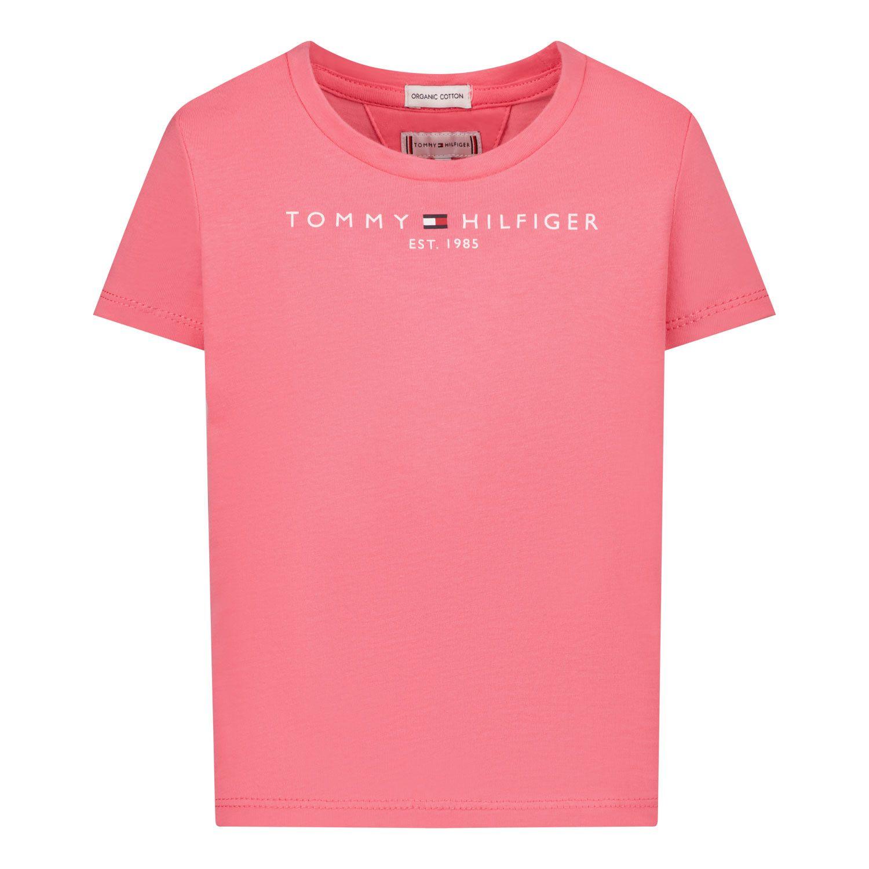 Afbeelding van Tommy Hilfiger KG0KG05242B baby t-shirt roze