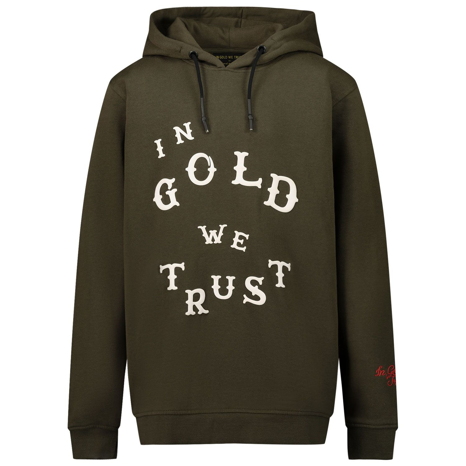 Picture of in Gold We Trust WESTERN HOODIE kids sweater green