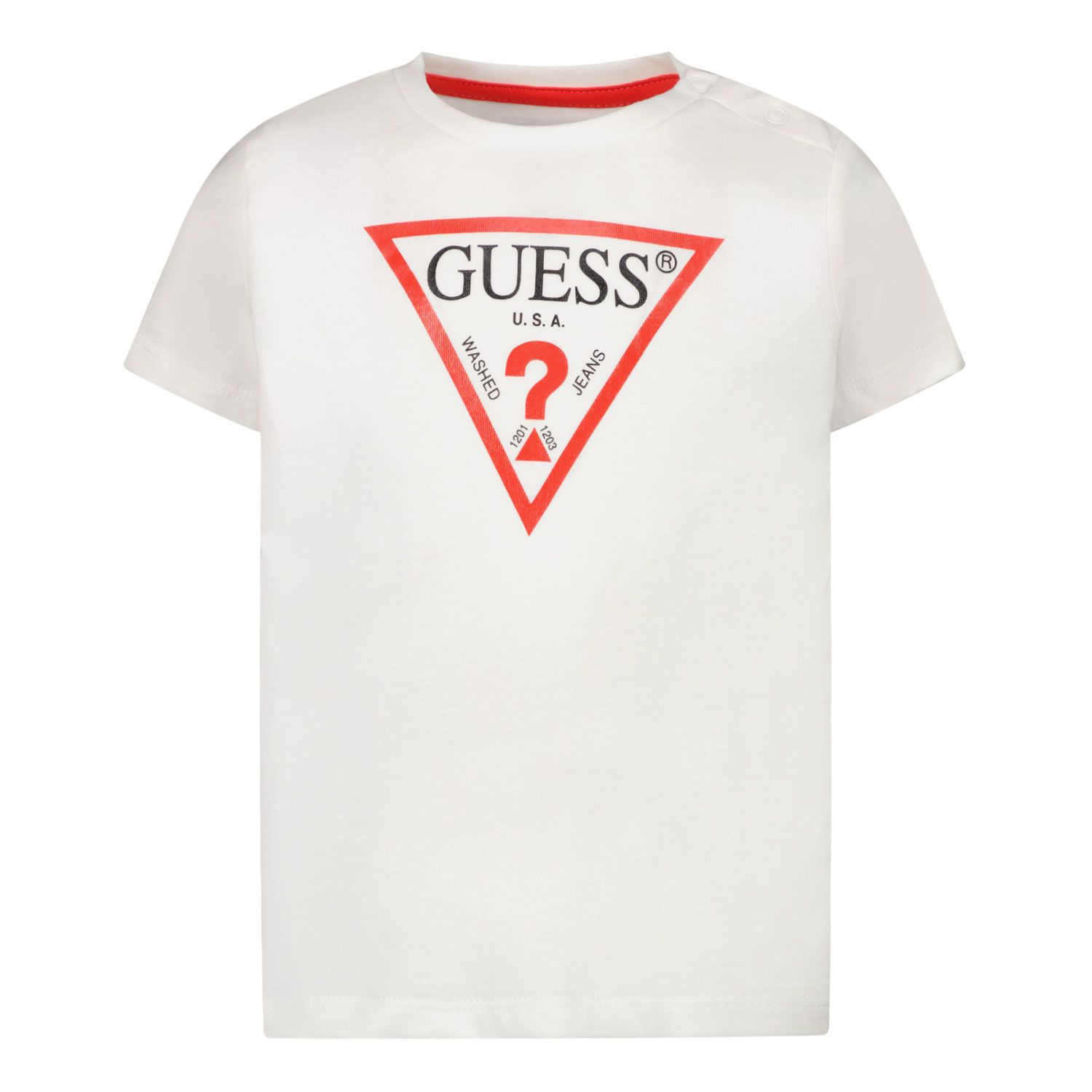 Afbeelding van Guess I91I11 baby t-shirt wit