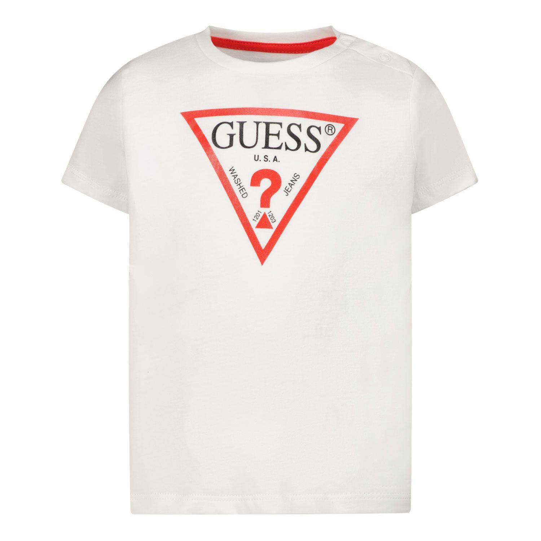 Afbeelding van Guess I91I11 baby t-shirt wit