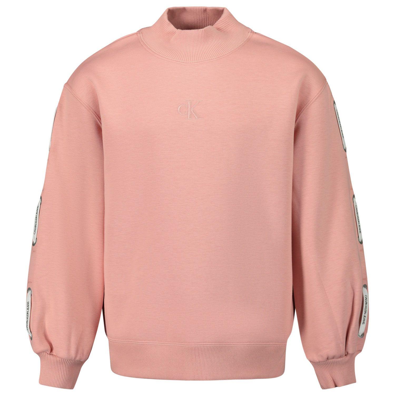 Picture of Calvin Klein IG0IG00683 kids sweater light pink