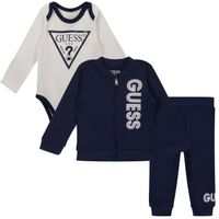 Picture of Guess H1YW05 baby sweatsuit navy