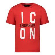 Bild von Dsquared2 DQ0242 Baby-T-Shirt Rot