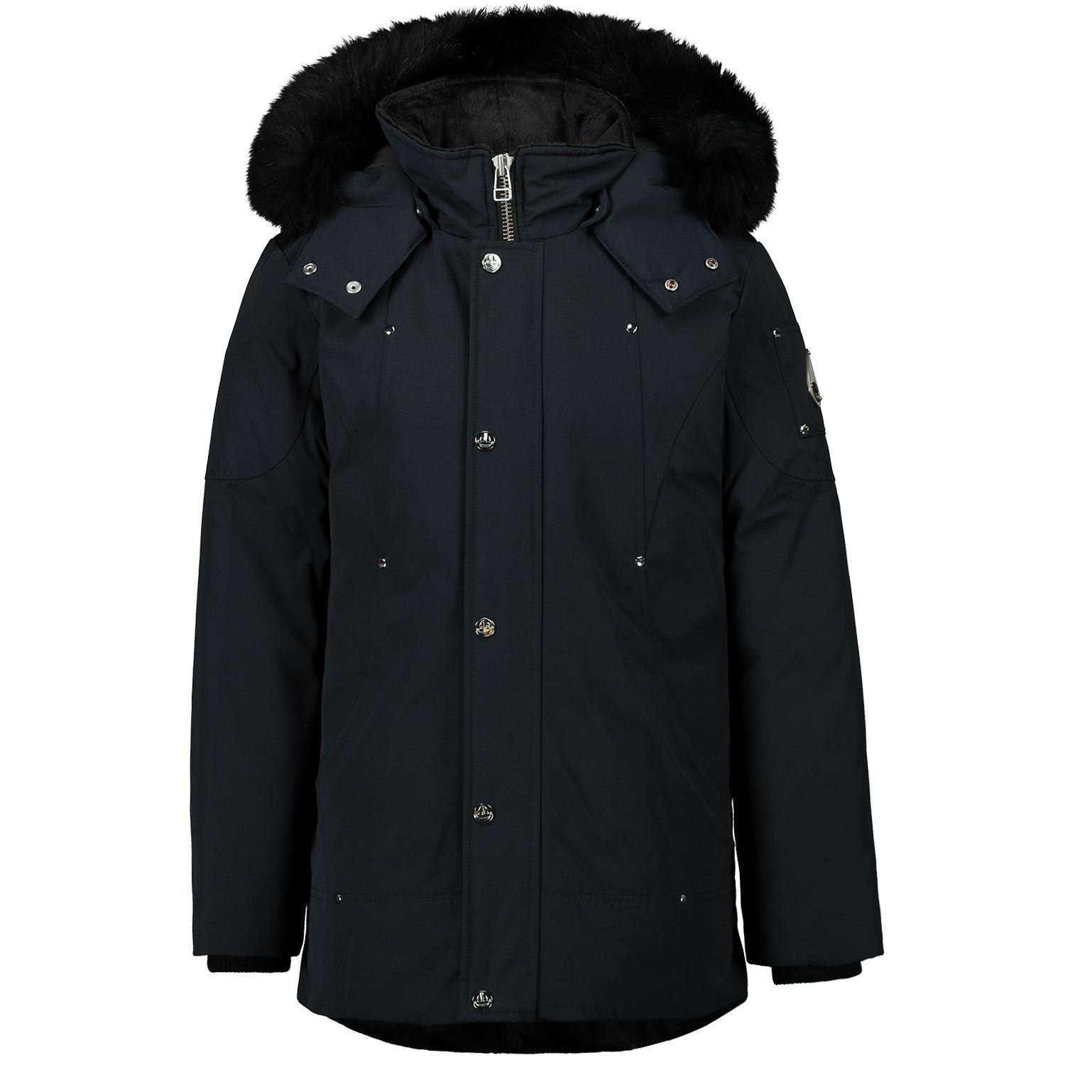 Picture of Moose Knuckles MK2631YUP kids jacket dark blue