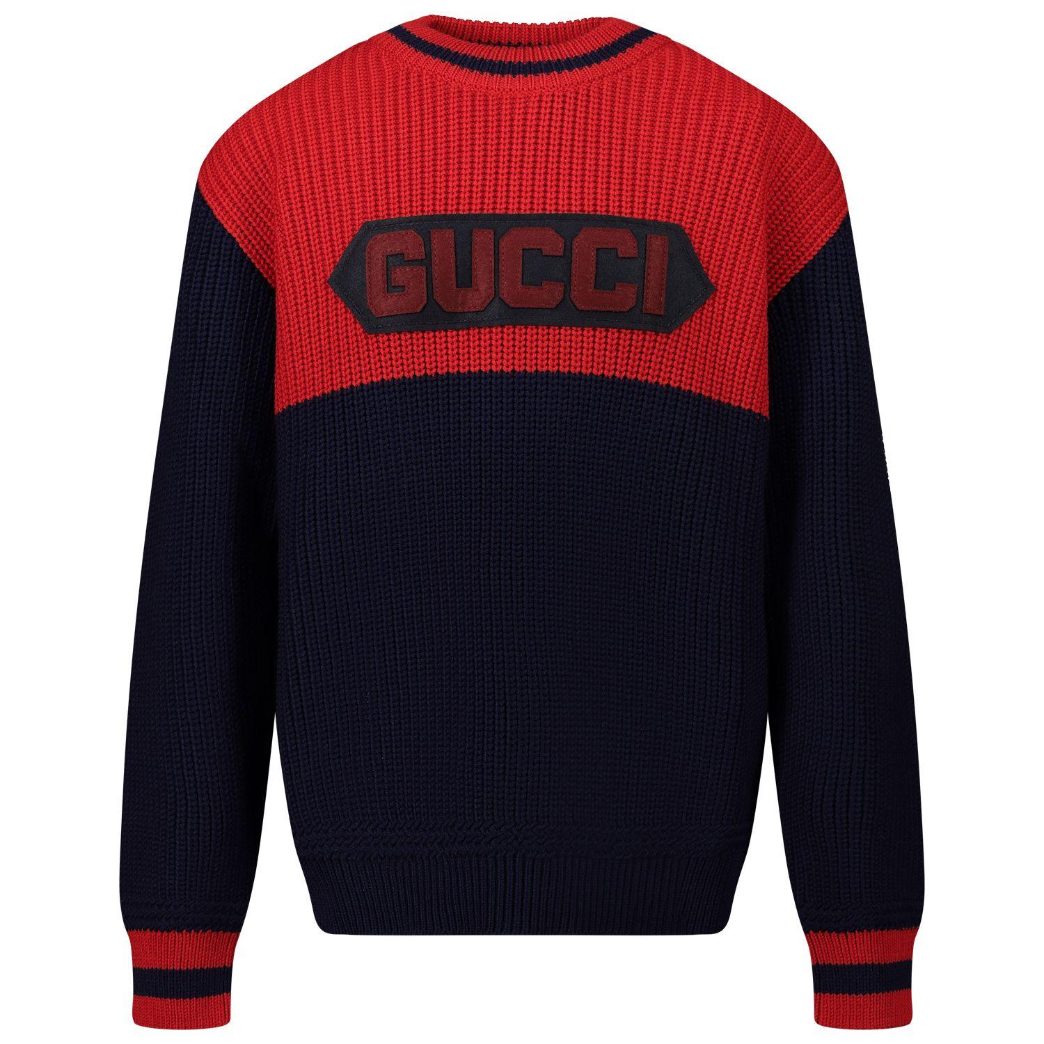 Picture of Gucci 615672 kids sweater blue