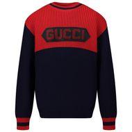 Afbeelding van Gucci 615672 kindertrui blauw