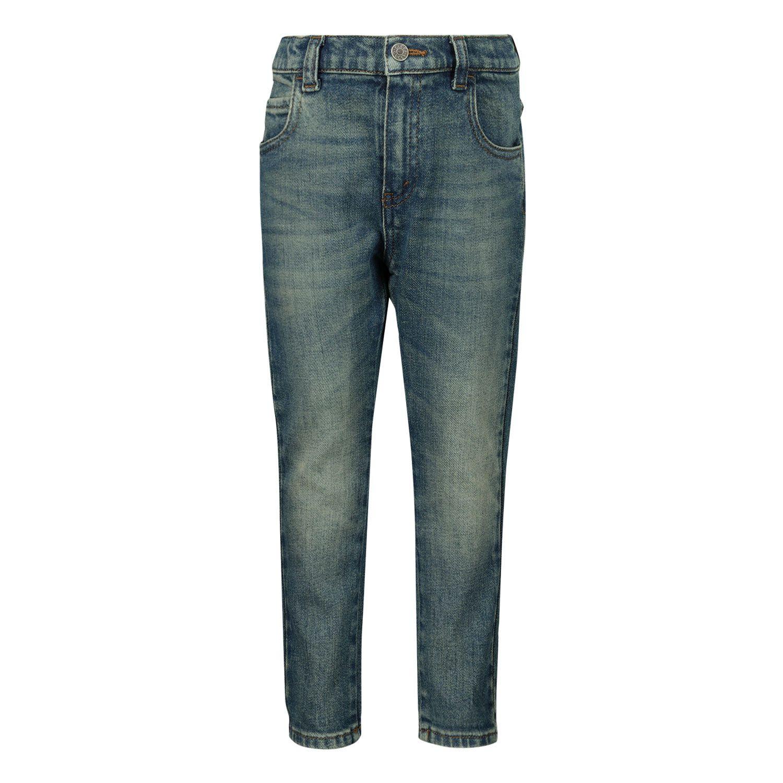 Afbeelding van Gucci 566100 babybroekje jeans