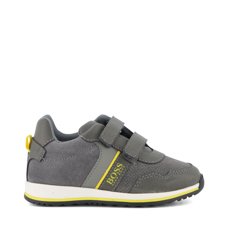 Picture of Boss J09148 kids sneakers grey