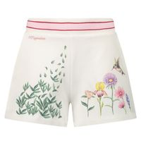 Picture of MonnaLisa 197400S4 kids shorts off white