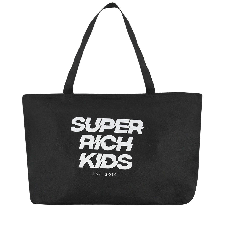 Afbeelding van Super Rich Kids TOTE BAG SRK kindertas zwart