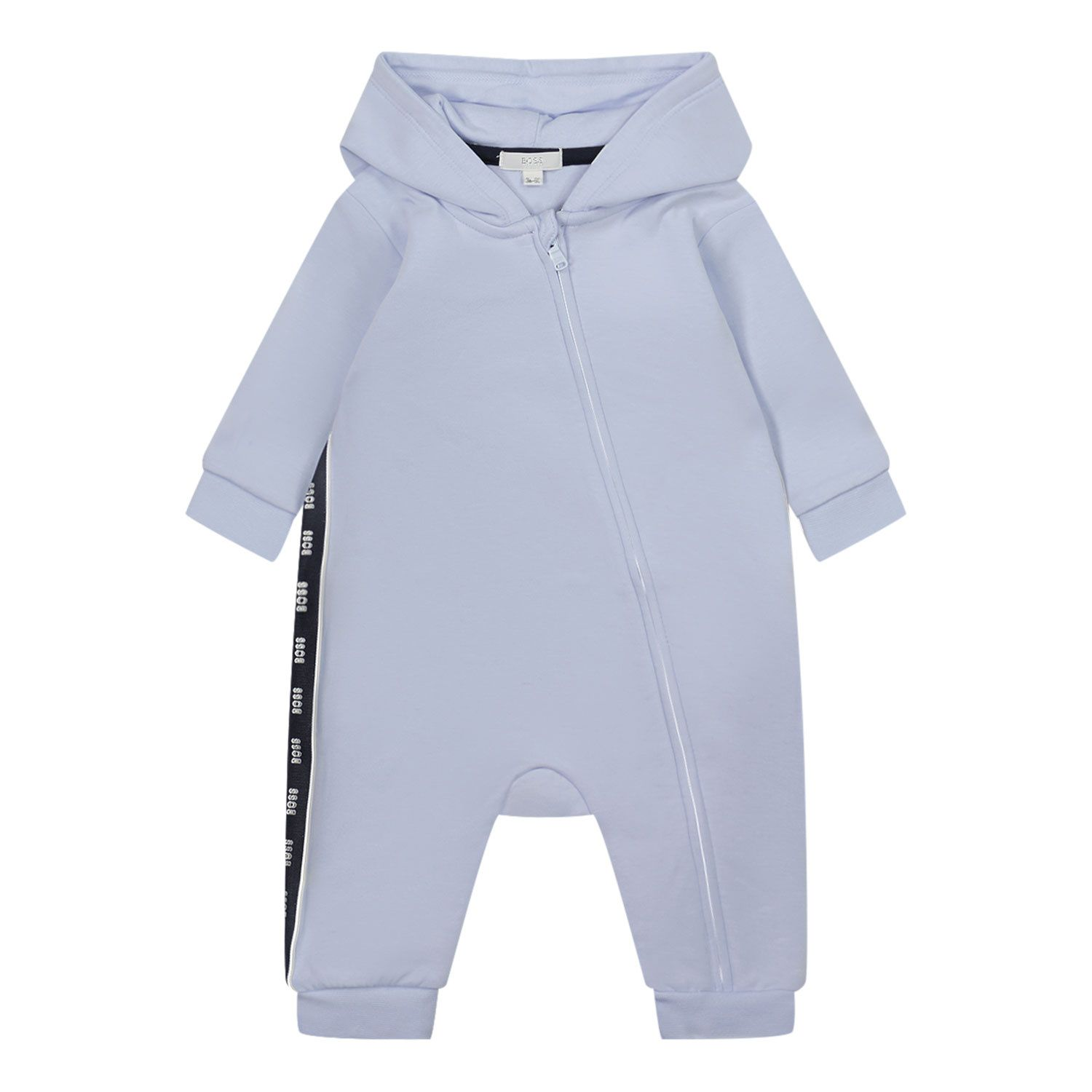 Picture of Boss J94297 baby playsuit light blue