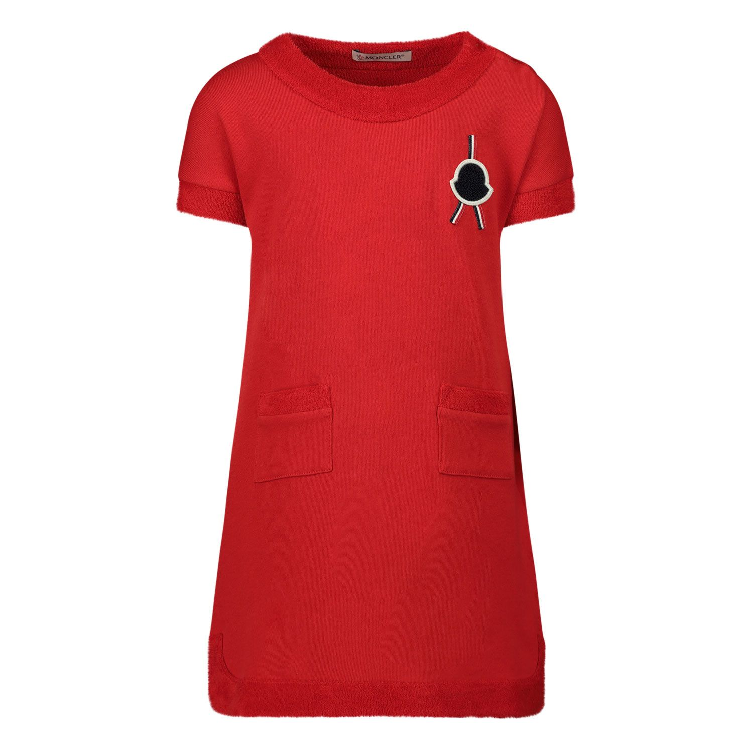 Picture of Moncler 8I72310 baby dress red
