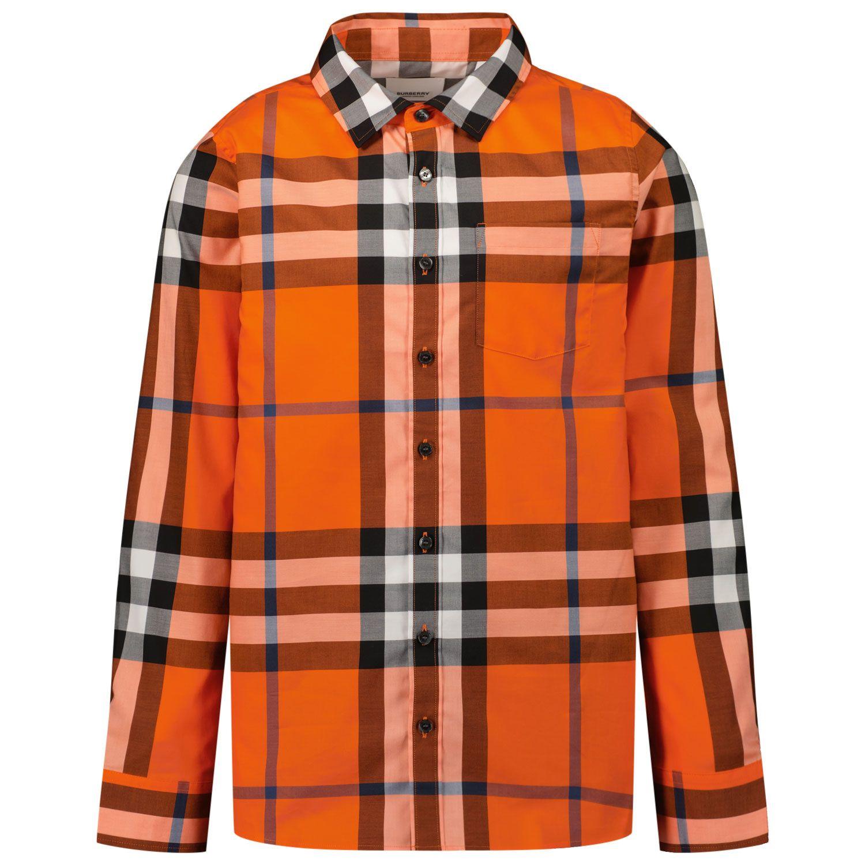 Bild von Burberry 8043648 Kinderhemd Orange