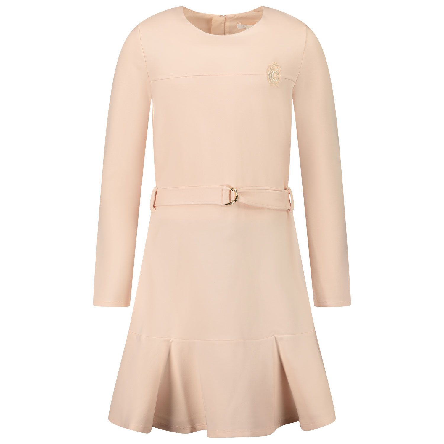 Picture of Chloé C12791 kids dress light pink