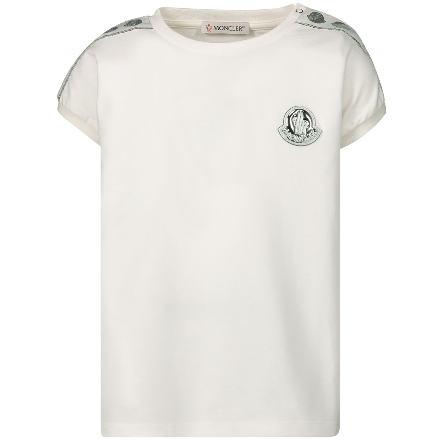 Picture of Moncler 8C70310 baby shirt off white