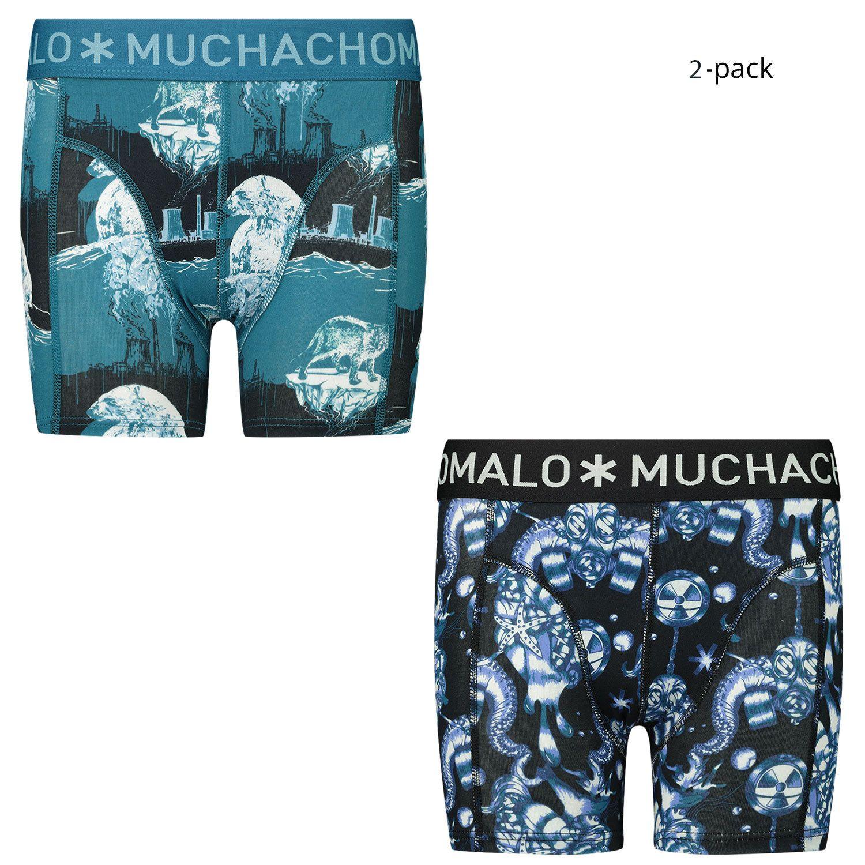 Picture of Muchachomalo CLMTC1010 kids underwear petrol