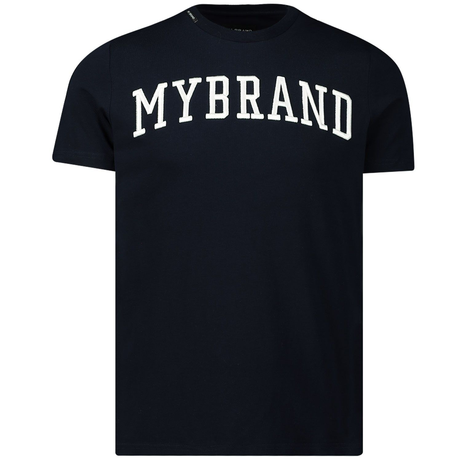 Picture of My Brand 1X20001A0001 mens t-shirt navy