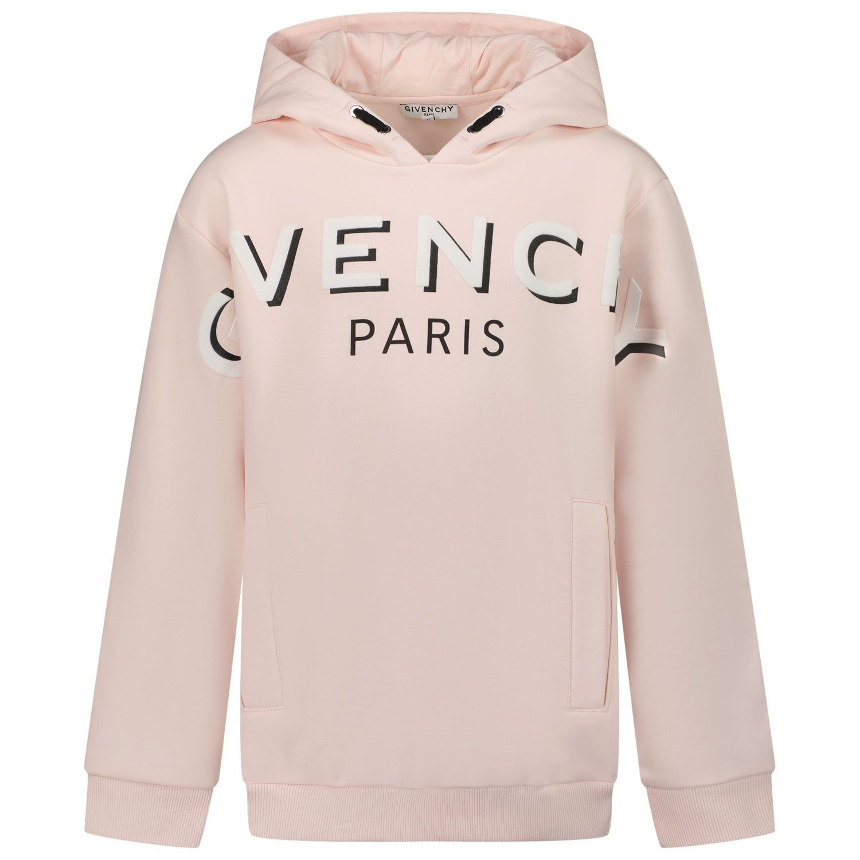 Afbeelding van Givenchy H15223 kindertrui licht roze