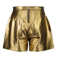 Picture of Balmain 6P6179 kids shorts gold