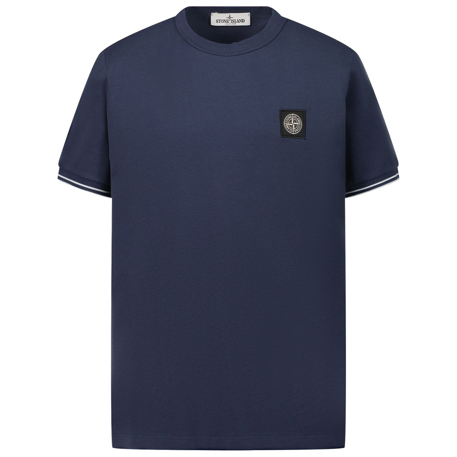 Picture of Stone Island 20748 kids t-shirt dark blue