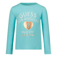 Picture of Guess K1BI18 kids t-shirt turquoise