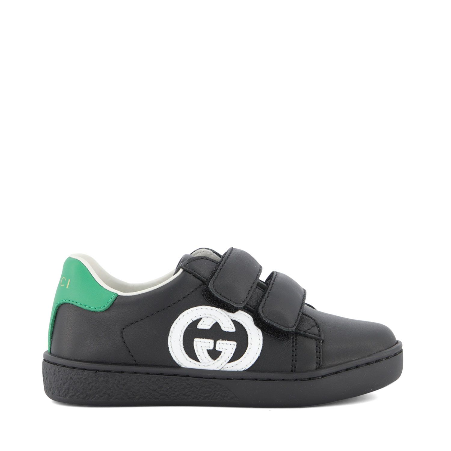 Picture of Gucci 647072 kids sneakers black