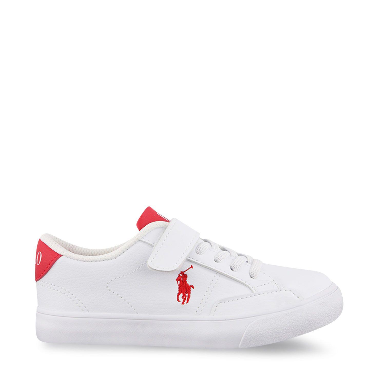 Picture of Ralph Lauren RF102985 kids sneakers white
