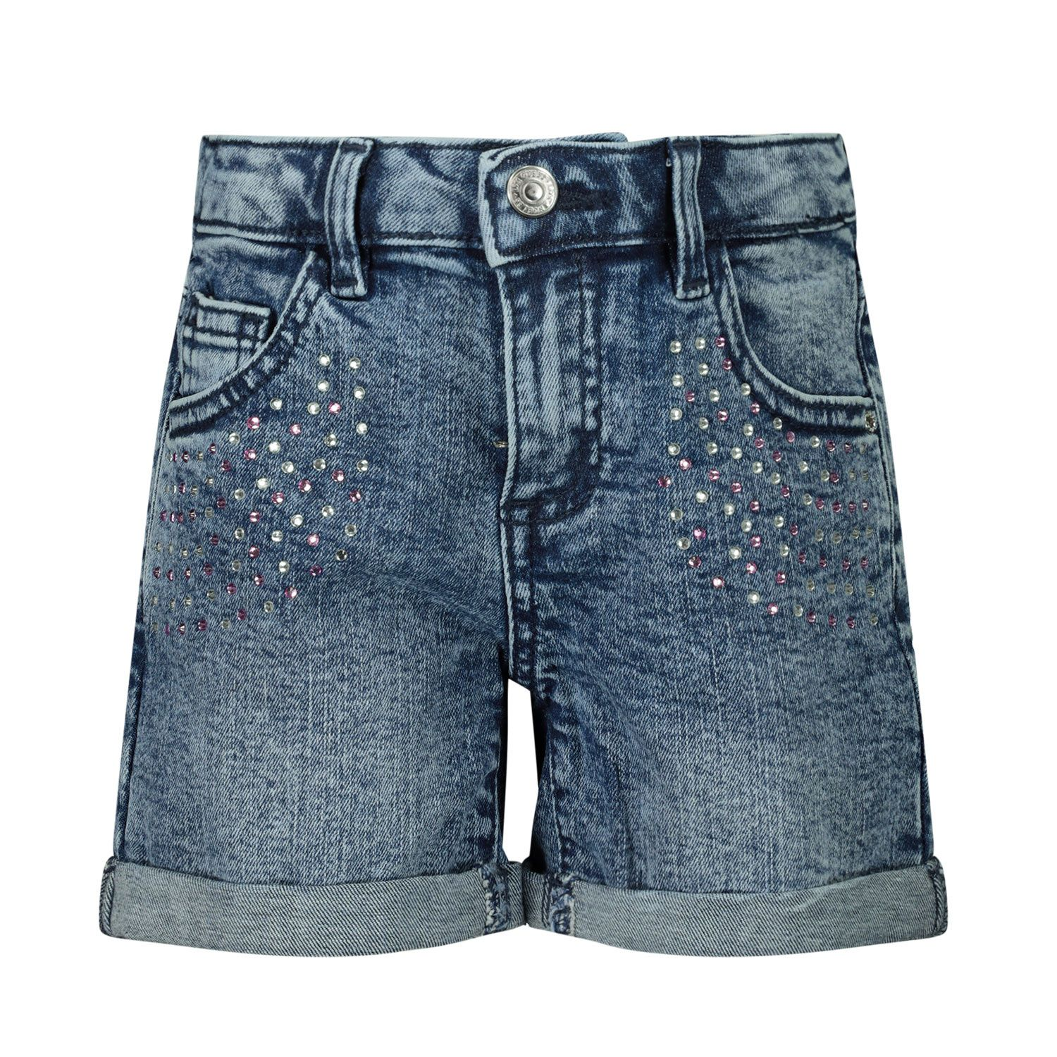 Picture of Guess K01D00 kids shorts jeans