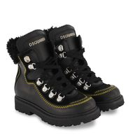 Picture of Dsquared2 68590 kids boots black