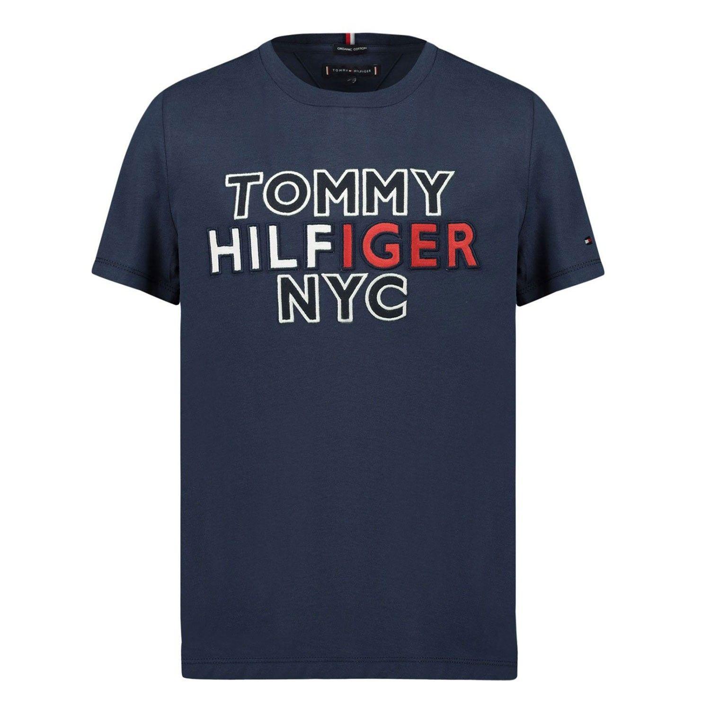 Afbeelding van Tommy Hilfiger KB0KB05848B baby t-shirt navy